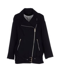 Kai Aakmann Kai Aakmann Coats And Jackets Jackets Women Dark Blue