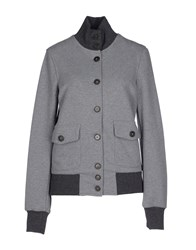 Capobianco Coats And Jackets Jackets Women Grey