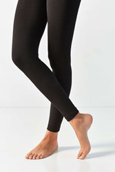Out From Under Fleece Lined Footless Tight Black