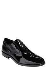 Cole Haan Men's 'Hamilton Grand' Plain Toe Oxford Black Patent Leather