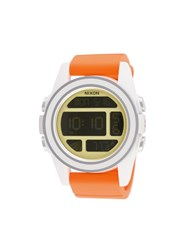 Nixon 'Unit Sw' Watch Yellow And Orange