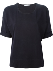 Lamberto Losani Short Sleeve Knit Top