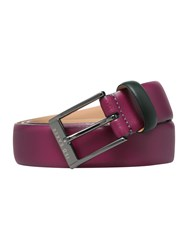 Ted Baker Wilson Colour Blocked Belt Dark Pink