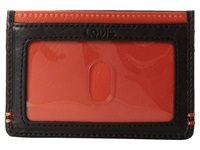 Lodis Mini Id Case Orange Credit Card Wallet