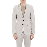Paul Smith Ps By Men's Twill Two Button Sportcoat Grey
