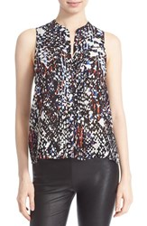 Women's Parker 'Marius' Sleeveless Silk Top