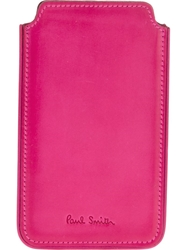Paul Smith Phone Case Pink And Purple