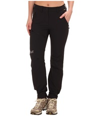 Jack Wolfskin Activate Pants Black Women's Casual Pants