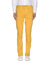 Roy Rogers Roy Roger's Trousers Casual Trousers Men Yellow
