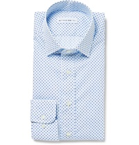 Etro Paisley Print Cotton Poplin Shirt White