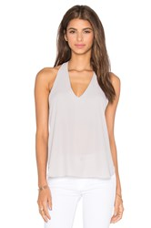Three Eighty Two Owen V Racerback Tank Gray
