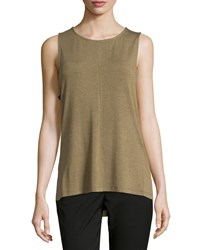 Design History Lightweight Side Tab High Low Tank Camouflage Heather