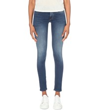 Replay Luz Skinny Mid Rise Jeans Blue