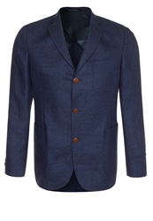 Oscar Jacobson Frick Suit Jacket Baltic Blue