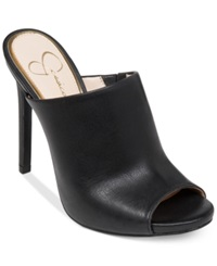 Jessica Simpson Rian Slide On Mules Women's Shoes Black