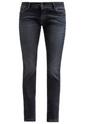 Teddy Smith Perfect Slim Fit Jeans Dye Dyed Denim