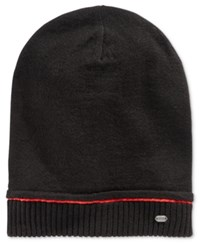 Hugo Boss Men's Smock Beanie Black