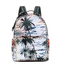 Valentino Printed Backpack Multicoloured