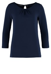 Esprit Collection Noos Long Sleeved Top Navy Dark Blue