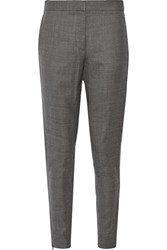 Stella Mccartney Wool Skinny Pants Gray