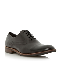 Bertie Radius Lace Up Formal Oxford Shoes Black