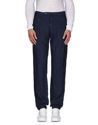 Uniform Trousers Casual Trousers Men Dark Blue