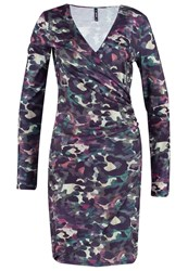 Smash Avelina Jersey Dress Army Khaki
