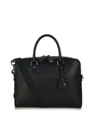 Dolce And Gabbana Dauphine Leather Briefcase