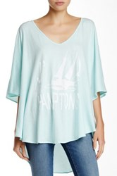Wildfox Couture J'adore Hamptons Tahiti Tunic Blue