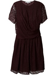 Carven Lace Flared Dress