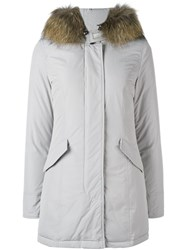 Woolrich 'Artic' Padded Parka Grey