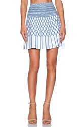 Bcbgmaxazria Marleia Mini Skirt White