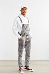 Bdg Bruce Acid Wash Overall Charcoal