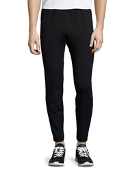 Theory Demir Stretch Sweatpants Black Men's