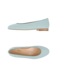 Cherie Amour Ballet Flats Ivory