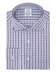 Ike By Ike Behar Classic Fit Fancy Check Dress Shirt