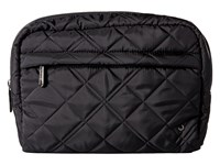 Le Sport Sac City Large Central Cosmetic Phantom Black Quilted Cosmetic Case