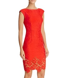 Tracy Reese Aviva Lace Dress Flame