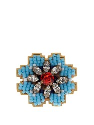 Shourouk Cara Ring Blue
