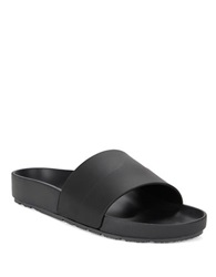 Hunter Original Moustache Slides Black