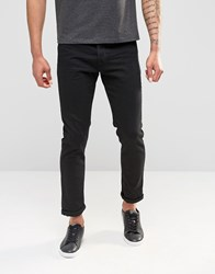 United Colors Of Benetton Slim 5 Pocket Stretch Jeans Black