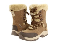 Hi Tec St. Moritz 200 Wp Brown Cream Women's Cold Weather Boots