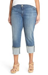 Plus Size Women's Kut From The Kloth Wide Cuff Boyfriend Jeans