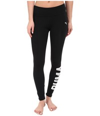 Puma Style Swagger Leggings Black Women's Workout