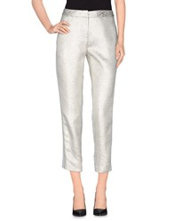 Tara Jarmon Trousers Casual Trousers Women Silver
