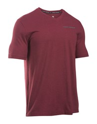 Under Armour Charged Cotton V Neck Mint