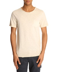 Menlook Label Simon Beige T Shirt