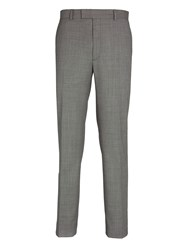 Paul Costelloe Grey Birdseye Suit Trousers