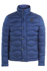 Blauer Quilted Down Jacket Blue