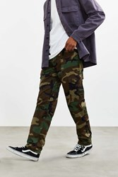 Stan Ray Woodland Camo Fatigue Pant Green Multi